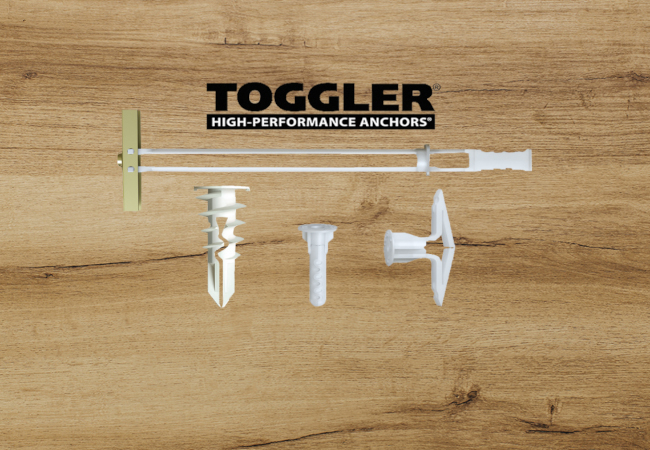 toggler concrete wall anchors